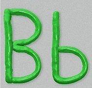 Letters van klei